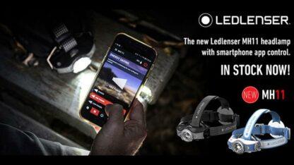 Led Lenser MH11 Rechargeable Headlamp 1000 lumens- Grey-16150