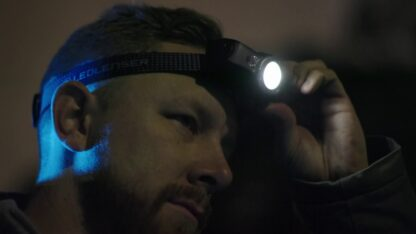 Led Lenser MH11 Rechargeable Headlamp 1000 lumens- Grey-16146