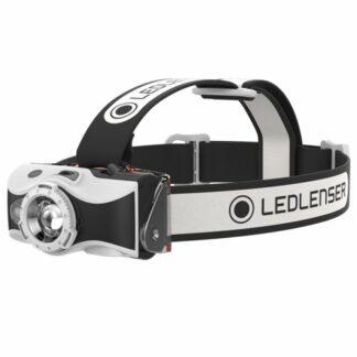 Led Lenser MH7 USB Rechargeable Headlamp - Black/White-0