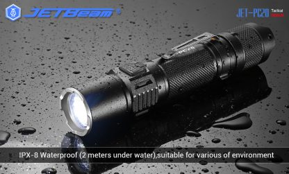 JETBeam Jet-PC20 USB Type-C Rechargeable Flashlight – 1800 Lumens-15044