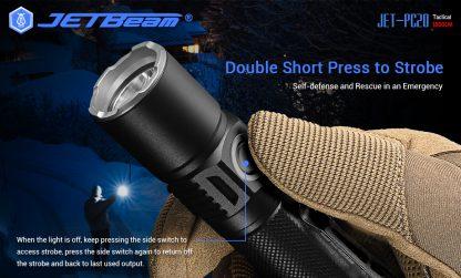 JETBeam Jet-PC20 USB Type-C Rechargeable Flashlight – 1800 Lumens-15053