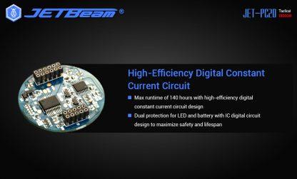 JETBeam Jet-PC20 USB Type-C Rechargeable Flashlight – 1800 Lumens-15046