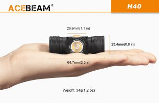 AceBeam H40 1050 Lumen Headlamp -15282