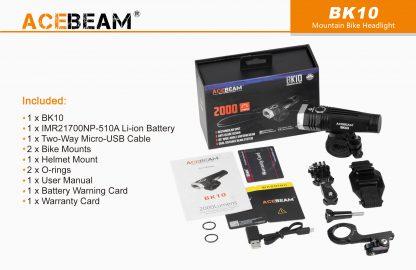 AceBeam BK10 2000 Lumen Bike Light-15164