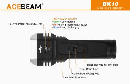 AceBeam BK10 2000 Lumen Bike Light-15165