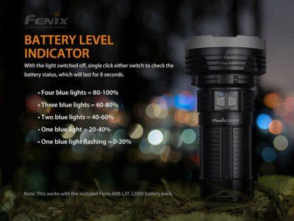 Fenix LR40R Rechargeable Searchlight (12000 lumens)-15234