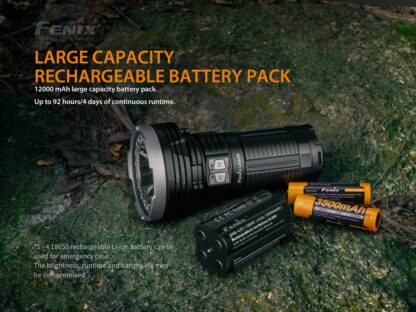 Fenix LR40R Rechargeable Searchlight (12000 lumens)-15233