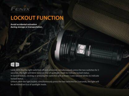 Fenix LR40R Rechargeable Searchlight (12000 lumens)-15227
