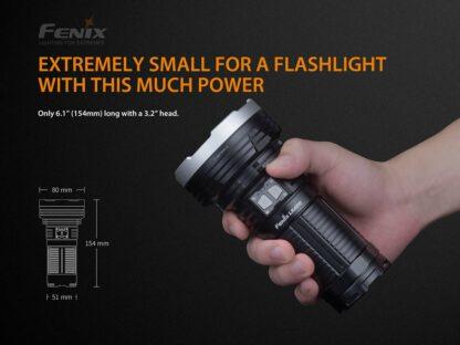 Fenix LR40R Rechargeable Searchlight (12000 lumens)-15229