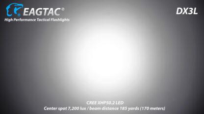 Eagletac DX3L 2500 Lumen Micro-USB Rechargeable Flashlight-15324