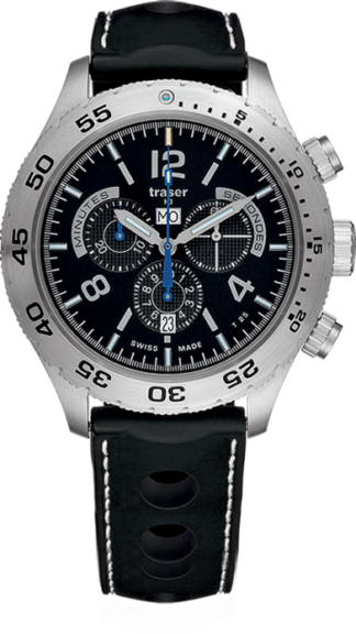 Traser T5 Chronograph Elegance with Silicone Band-0