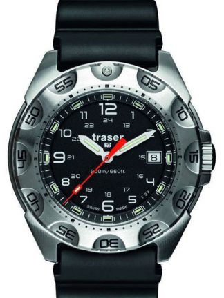 Traser P49 Survivor Watch with Rubber Band-0