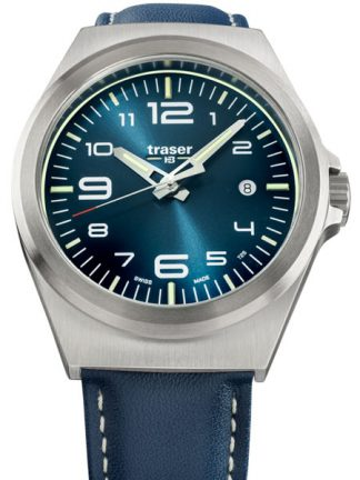 Traser P59 Essential Blue S Watch with Leather Band-0