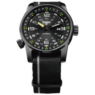 Traser P68 Pathfinder Automatic Black Watch with NATO Band