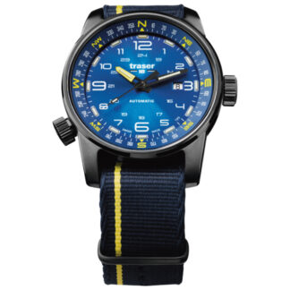 Traser P68 Pathfinder Automatic Blue Watch with NATO Band