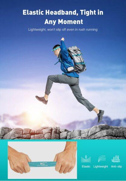 Klarus H1A-PL Lightweight LED Headlamp - 350 Lumens - Ocean Teal-15522