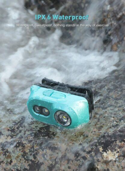 Klarus H1A-PL Lightweight LED Headlamp - 350 Lumens - Ocean Teal-15530
