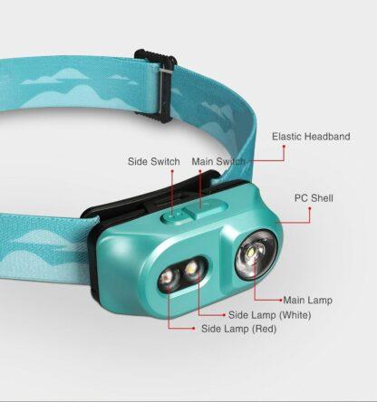 Klarus H1A-PL Lightweight LED Headlamp - 350 Lumens - Ocean Teal-15527