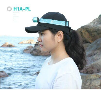 Klarus H1A-PL Lightweight LED Headlamp - 350 Lumens - Ocean Teal-15524