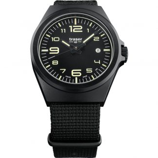 Traser P59 Essential Black M Watch with NATO Band-0