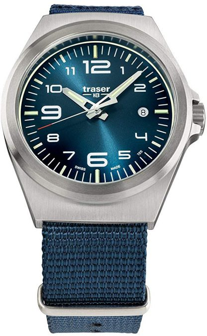 Traser P59 Essential Blue S Watch with NATO Band-0