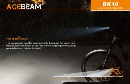 Acebeam 2000 lumen Bike Helmet Light-15932