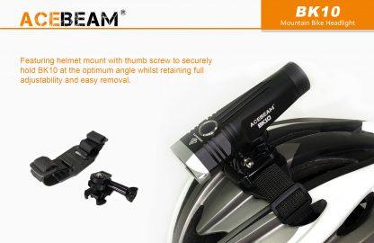 Acebeam 2000 lumen Bike Helmet Light-15940