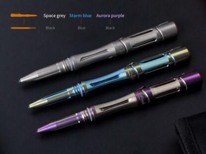 Fenix Halberd T5Ti Titanium Tactical Pen - Blue-15904
