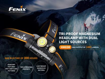 Fenix HM65R Rechargeable Headlamp - 1400 Lumens-15741