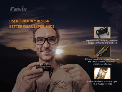 Fenix HM65R Rechargeable Headlamp - 1400 Lumens-15736