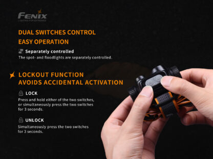 Fenix HM65R Rechargeable Headlamp - 1400 Lumens-15735