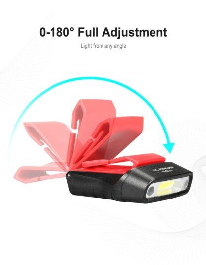 Klarus HC3 Visor Clip Motion-Sensing Headlamp-15759