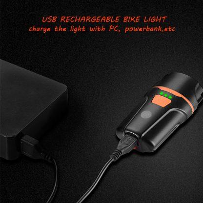 Prolite UL260 Rechargeable Bike Light - 260 lumens-16249
