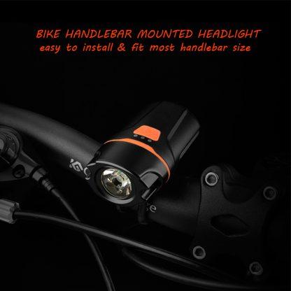Prolite UL260 Rechargeable Bike Light - 260 lumens-16254