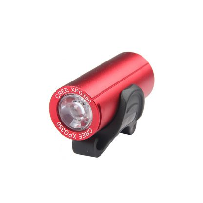 Prolite BF902 USB Rechargeable Waterproof Bike Light - 350 Lumens (Red)-0