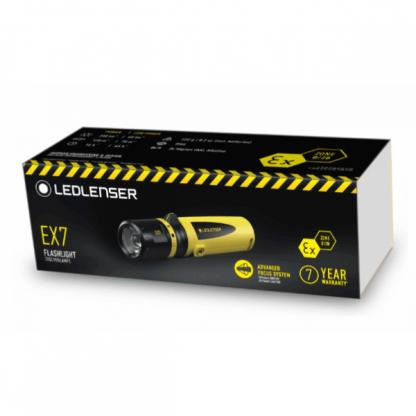 Ledlenser EX7 ATEX Intrinsically Safe Torch - 3AA-16057