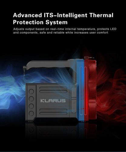 Klarus RS80GT 10000 Lumen Rechargeable Searchlight-16323