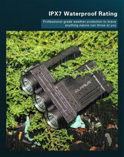 Klarus RS80GT 10000 Lumen Rechargeable Searchlight-16326