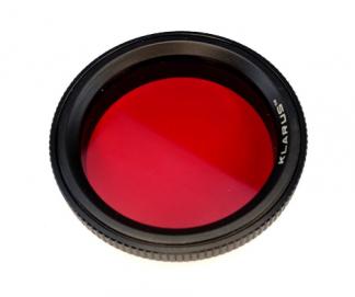 Klarus FT32 RED Filter (for 63.3mm bezel)-0
