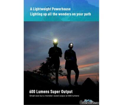Klarus HR1 Plus Ultra-thin Rechargeable Headlamp - 600 Lumens - Ocean Teal-16574
