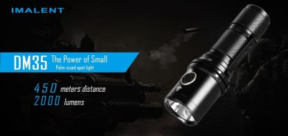Imalent DM35 Rechargeable Torch - 2000 Lumens-17134