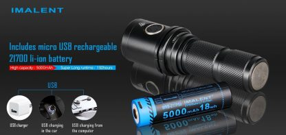 Imalent DM35 Rechargeable Torch - 2000 Lumens-17140