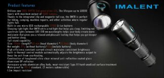 Imalent DM70 Rechargeable Torch - 4500 Lumens-17103