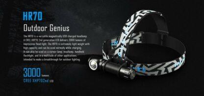 Imalent HR70 USB Rechargeable Headlamp - 3000 Lumens-16997
