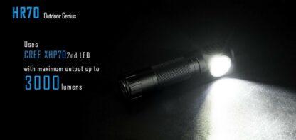Imalent HR70 USB Rechargeable Headlamp - 3000 Lumens-17002