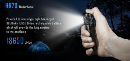 Imalent HR70 USB Rechargeable Headlamp - 3000 Lumens-17001