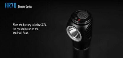Imalent HR70 USB Rechargeable Headlamp - 3000 Lumens-17005
