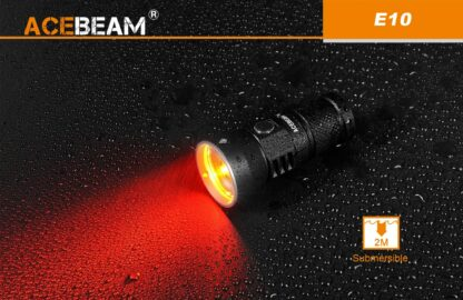 AceBeam E10 Rechargeable Mini Thrower - White LED (562m)-18120