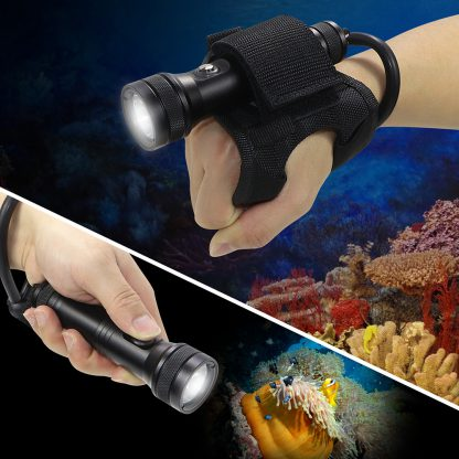 Hi-Max HD01 Rechargeable Dive Torch - 1300 Lumens (Red)-17315