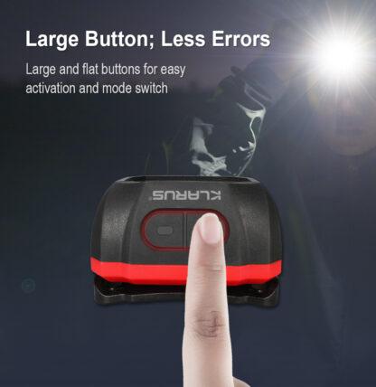 Klarus HM1 Smart-Sensing Rechargeable Lightweight Headlamp-17265